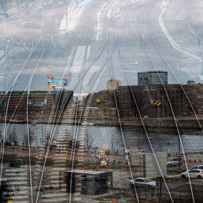 Kiel,Bahnschienen