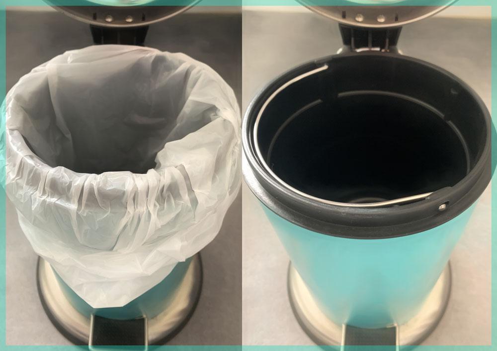 Plastik im Mülleimer ist vermeidbar